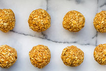 healthy pumpkin pie oat energy balls recipe gluten free