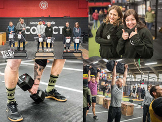 CONGRATULATIONS to our Connect OPEN Throwdown athletes