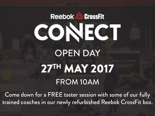 Connect open day: 27th May 2017
