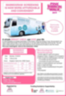 Mammobus Poster Template - Pink Ribbon W