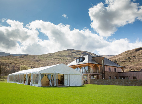 First Marquee Wedding