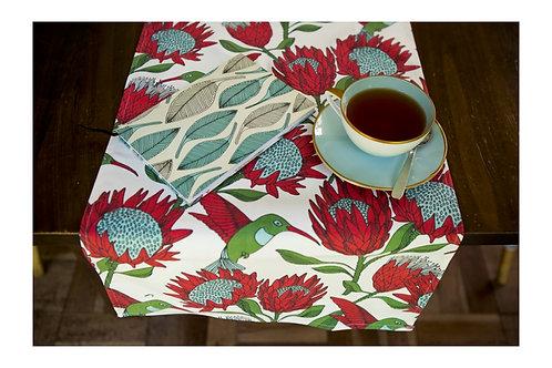 Arredamento da tavola | Protea | Lombardia | Fuori Salone | Design Sudafricano | Sugar birds | Tovaglie
