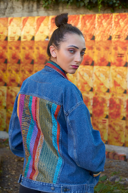 streetstyle | Cape2Milano | moda africano | south african designers | Denim jackets | Giacca di jeans | african print