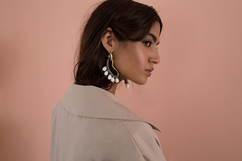 Jade Cornocopia Earrings