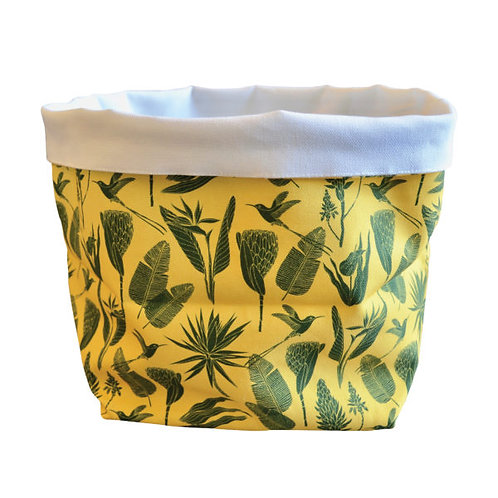 Fabric Bucket | Pot Holder | Home Decor | Table Decor | Storage unit | Home organiser | Declutter | Fabric Plant Pot Cover