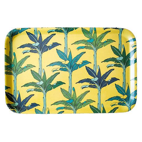 Palms (yellow) Medium  Tray