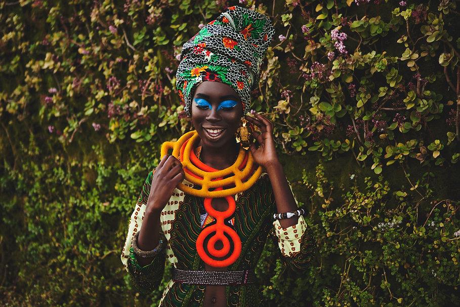 Collane Design Tessuti Africani dal Sudafrica