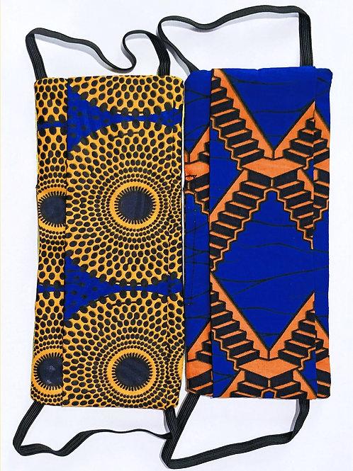 Wax fabric | Mascherine wax | Cape2Milano | Tessuti africano | Mascherine Africano | Stampa Africano | Moda Etnica