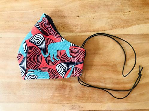 african print fabric | wax | Cape2Milano | mascherine wax | macherina africano | tessuti africano | tessuti wax a milano