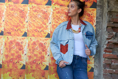 African streetstyle | Cape2Milano | Ethnic | south african designers | Denim jackets | Giacca di jeans | african print