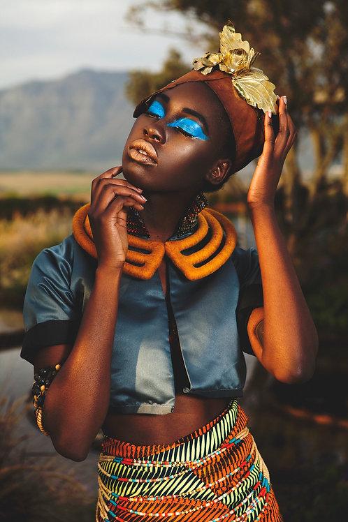 South African shop in Italy | collana sudfricana | feltro | cape2milano | lana merino | moda sudafricana | ethnic jewellery