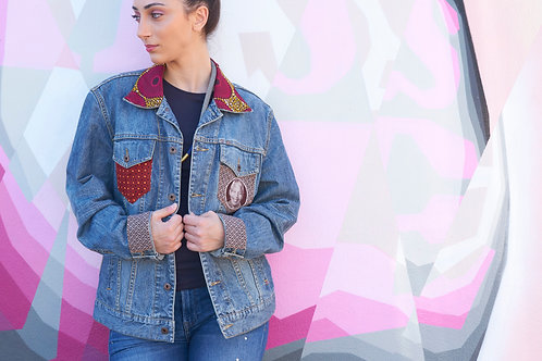 streetstyle | Cape2Milano | moda africano | south african designers | Denim jackets | Giacca di jeans | Etnic fashion