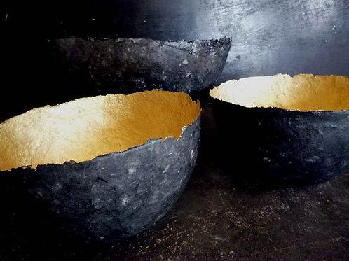 Fair trade | Cape2Milano | cartapesta | papiermache | design Sudafrica | ciotola di carta | pulp bowls | jacaranda wood