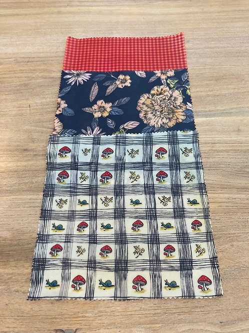 African print Beeswax wraps   Involucri cera d'api   Cape2Milano   Wax fabric   tessuti wax   tessuti africano   Ecologici