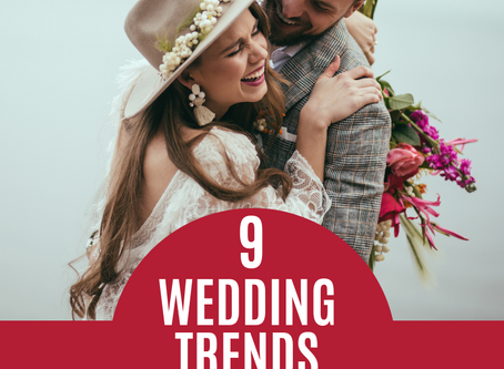 9 Wedding Trends for 2019