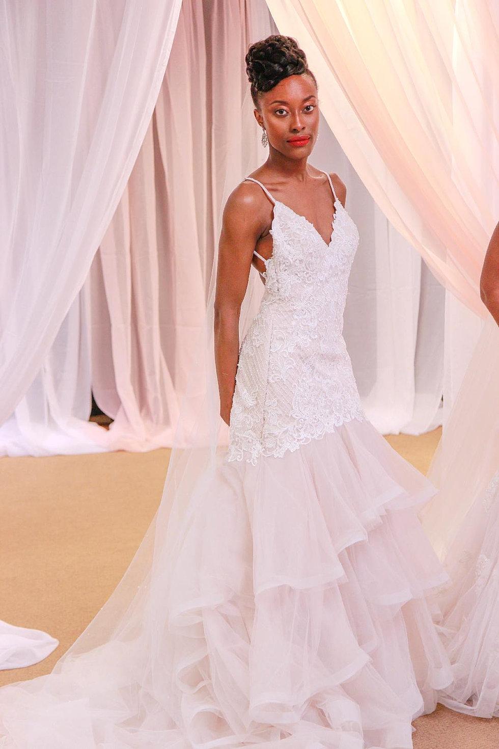 Lujoso Vestido De Novia Atlanta Friso - Colección de Vestidos de ...