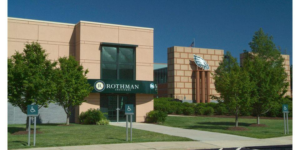Rothman Office at Eagles Practice Facility