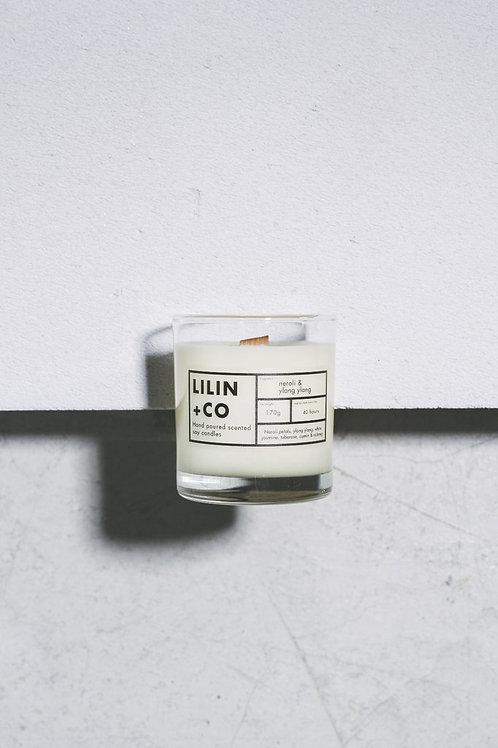 Lilin + Co Neroli & Ylang Ylang Candle