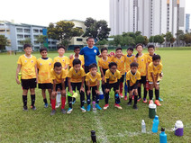 Mohammad amshar with Tamines Rovers U12 tournament.