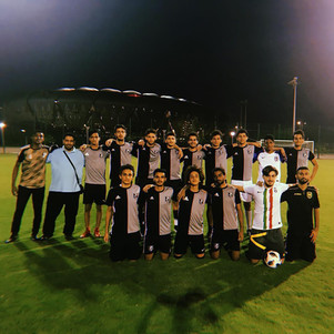 faisal Bajunaid with his ex team in jeddah JPFA
