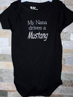 Nanny Drives a Mustang