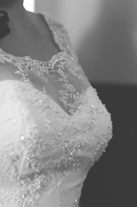 Ajustement robe de mariée