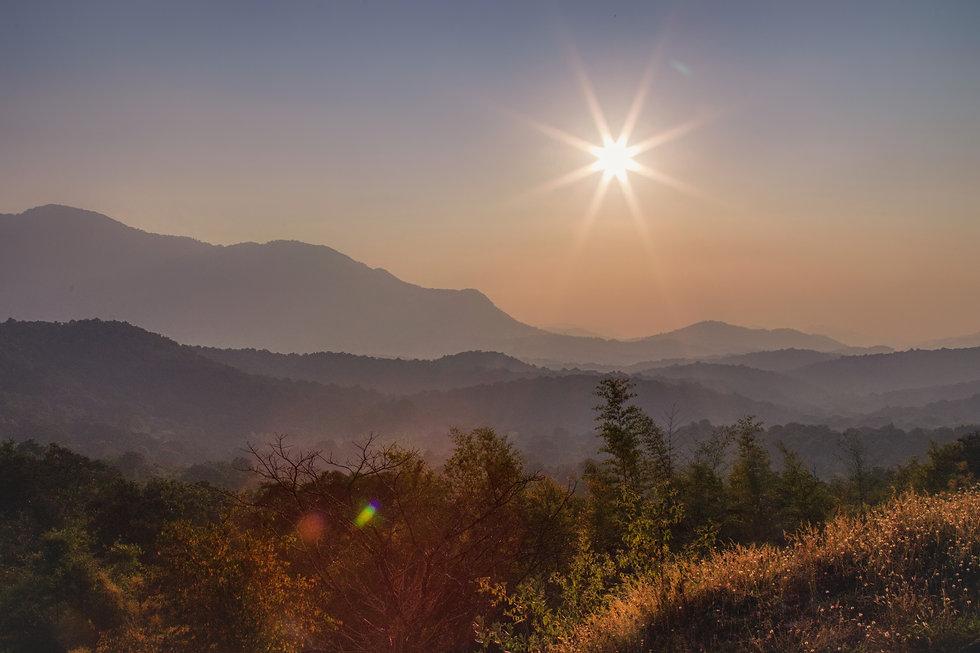 A Fine Sun Set