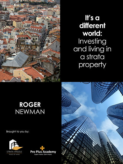 Strata Book I It's a different world: Investing and living in a strata property cover page
