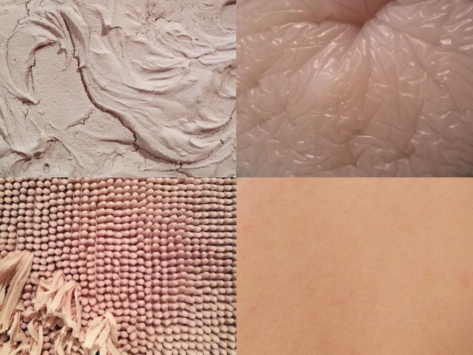 Details from Touch me! / Yksityiskohtia teoksesta Touch me!