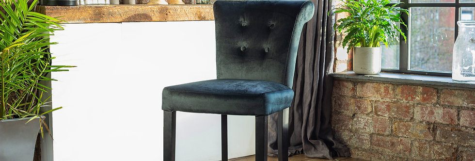 2-10 SOFIA Luxury Dining Chair in Black (select Quantity)