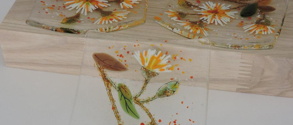 Summer Flowers - Dish Set