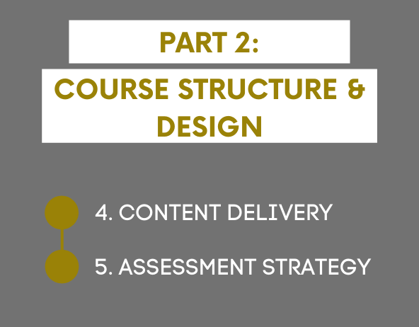 Planning Your Course Structure and Design: Part 2