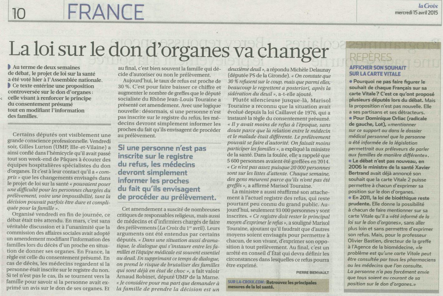 2015-04-15-LCx-Loi SantÇ-Don d'organes