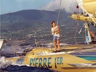 Hommage à Florence Arthaud, éternelle fiancée de l'Atlantique.