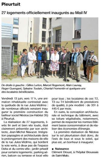 2014-06-17-OF-Inauguration logements Pleurtuit