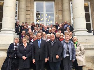 GILLES LURTON a accueilli le Club de l'Amitié d'Hirel à l'Assemblée Nationale