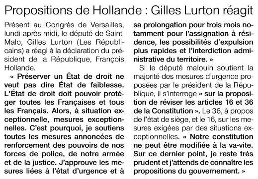 2015-11-17-OF-SM-RÇaction_de_Gilles_LURTON_Ö_la_suite_du_Congräs_de_Versailles_le_lundi_16_novembre_