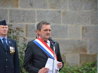 Gilles Lurton a commémoré le centenaire de la Bataille de Verdun dimanche 29 mai 2016 à Plerguer