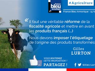 Mes propositions en faveur de l'agriculture