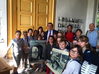 L'école de la Cité de Saint-Malo en visite à l'Assemblée Nationale