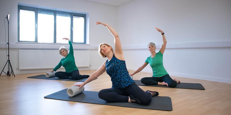 Pilates Intermediate / Advanced Mat Class
