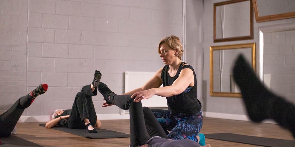 Pilates Intermediate Mat Class/ Beginners welcome
