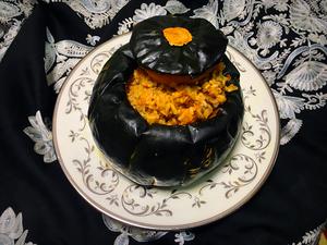 Thanksgiving pumpkin rice
