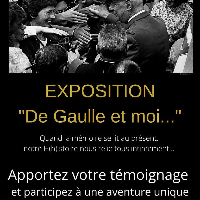 """Exposition """"De Gaulle et moi..."""""""