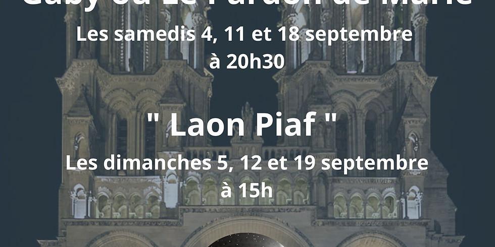 """Lectures théâtrales """"Gaby ou Le Pardon de Marie"""" et """"Laon Piaf"""""""