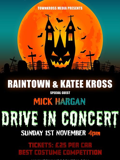 TownKross Media Presents: Halloween Drive In Concert