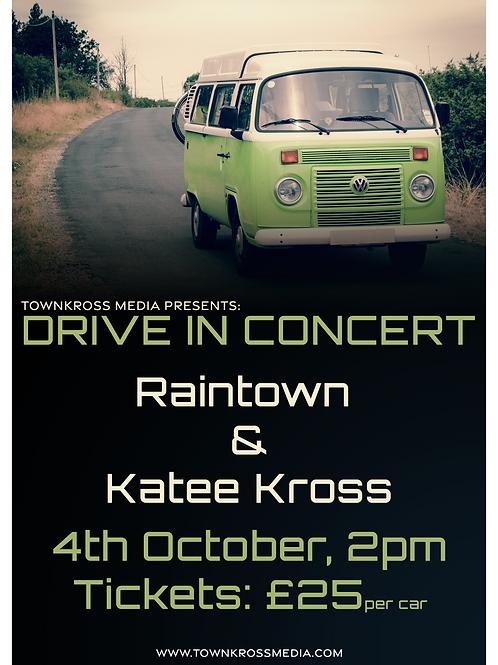Drive In Concert: Raintown & Katee Kross