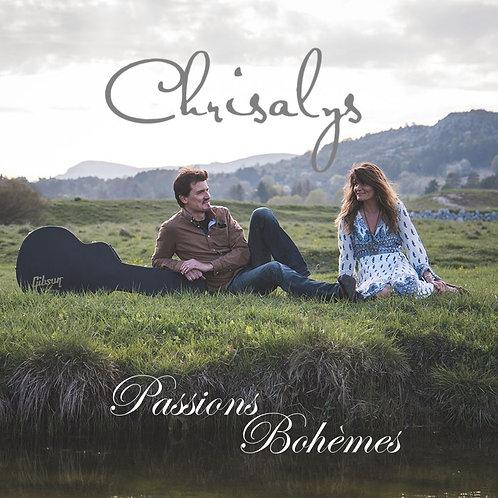 Album Passions Bohèmes (duo Chrisalys)