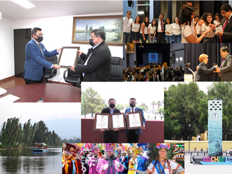 Alcaldía de Xochimilco y su titular José Carlos Acosta ganan el Premio ¡Goya! al mérito municipal.