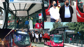 Línea 5 del Metrobús llega hasta la Preparatoria 1 en Xochimilco.